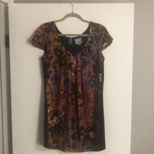 anthropology Maeve women dress short sleeves